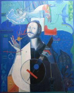 """Українське сучасне мистецтво Із серії """"Козак Мамай"""" - 90"""