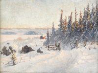 Зимний пейзаж №5