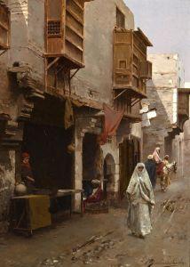 Санторо Рубенс Улица в Северной Африке