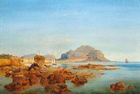 Вид на бухту в Палермо