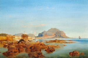 Романтизм Вид на бухту в Палермо