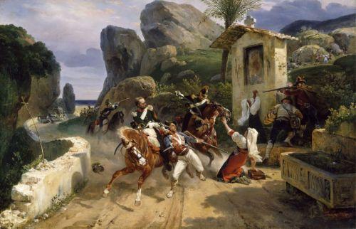 Удивленные итальянские разбойники