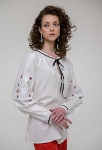 Жіночі вишиванки Вишиванка жіноча Шипіт молочна