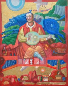 """Українське сучасне мистецтво Із серії """"Козак Мамай"""" - 103"""