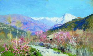 Левитан Исаак Весна в Италии
