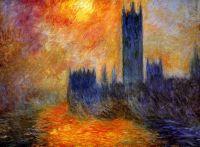 Вестминстерский дворец. Солнце
