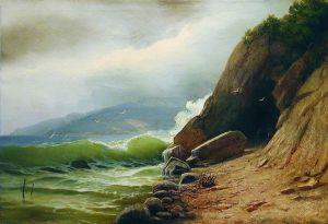 Мещерский Арсений Грот на берегу моря
