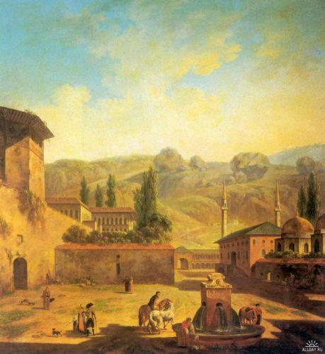 Вид города Бахчисарая - изображение 1