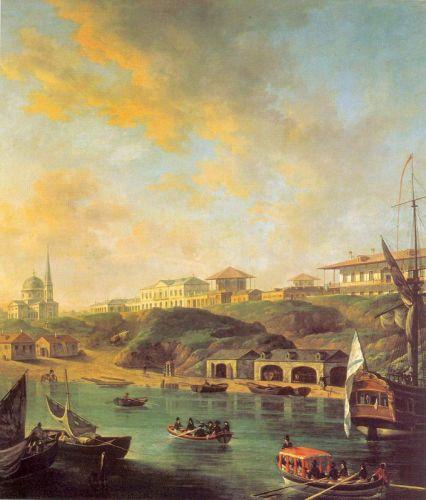 Вид города Николаева