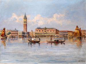 Кауфман Карл Вид на Дворцовую Венецию