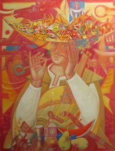 """Українське сучасне мистецтво Із серії """"Козак Мамай"""" - 95"""