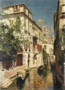 Санторо Рубенс Венецианский канал №3