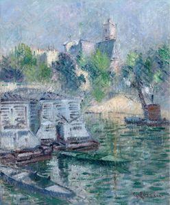 Луазо Гюстав Сан-Жерве, Париж