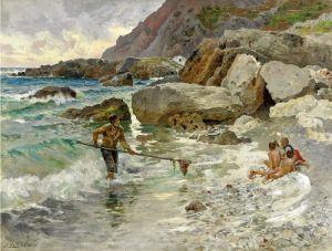 Лето Антонио I figli del mare, Capri
