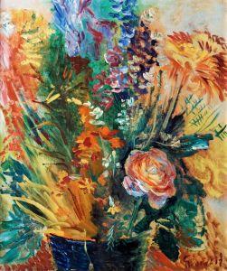 Експресіонізм Квітковий натюрморт