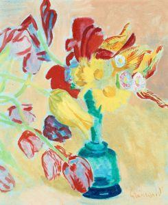 Экспрессионизм Натюрморт с тюльпанами