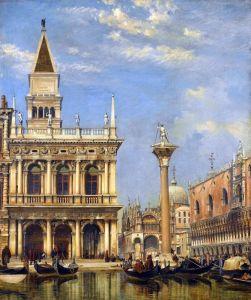 Романтизм Площадь Святого Марка, Венеция