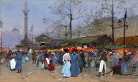 Париж, рынок