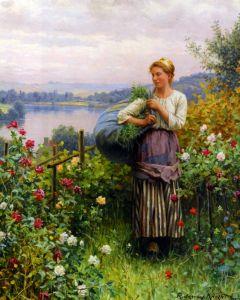 Найт Дэниел Риджуэй Розовый сад