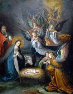 Баллье де Корнелис Старший Святое семейство с ангелами