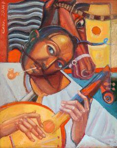 """Українське сучасне мистецтво Із серії """"Козак Мамай"""" - 86"""