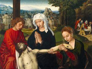 Бенсон Амброзиус Пиета у подножия Креста