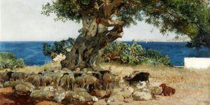 Соролья Хоакин Рожковое дерево