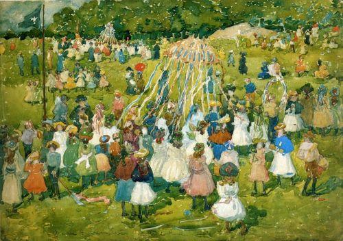 Майский праздник в Центральном парке