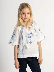 Вышиванки детские Вышиванка для девочки White Spike