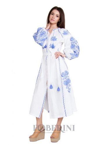 """Платье вышиванка """"Нежный цветок"""""""
