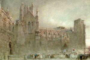 Гудвин Альберт Походка мимо северный притвор Уэльского собора, Самерсет