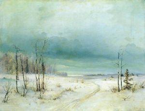 Саврасов Алексей Зима