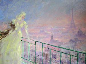 Модерн Вечерний Париж