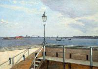 Вид из крепости Трекронер, Копенгаген