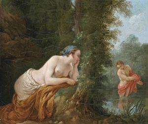 Лагрене Луи Жан-Франсуа Эхо и Нарцисс