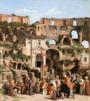 Интерьер Колизея в Риме 2