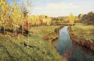 Левитан Исаак Золотая осень