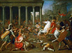 Пуссен Никола Завоевание Иерусалима императором Титом