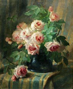 Мортельманс Франс Натюрморт с розами №2
