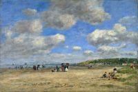 Пляж Туржевиль ле Саблонс