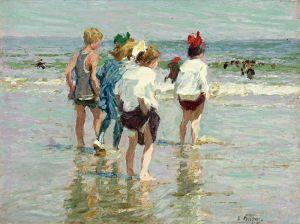 Потхаст Эдуард Генри Summer day, Brighton Beach
