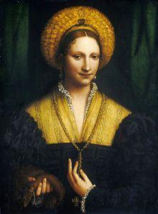 Відродження Портрет дами