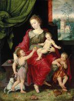Мадонна з Немовлям і юними Іоанном Хрестителем та Яковом