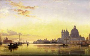 Романтизм Вечер, церковь Санта-Мария-делла-Салюте