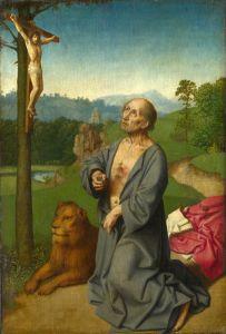 Герард Давид Святий Ієронім у пейзажі