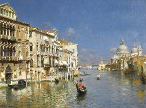 Санторо Рубенс Большой канал, Венеция №4