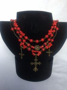 Beaded necklaces Святкове