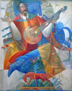 """Українське сучасне мистецтво Із серії """"Козак Мамай"""" - 109"""
