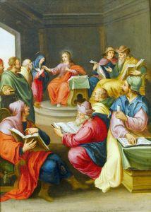 Баллье де Корнелис Старший Христос среди учителей