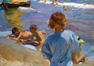Соролья Хоакин Дети на пляже, Валенсия